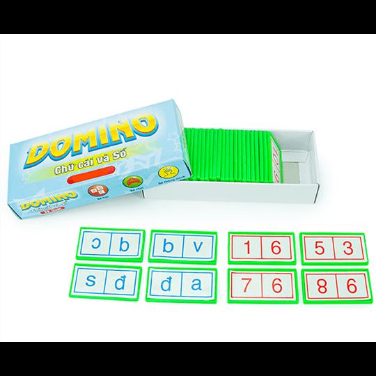 Domino chữ cái và số MN562072